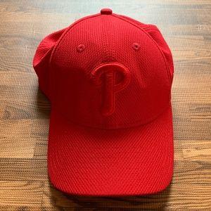 New Era Philadelphia Phillies Tonal Red Fitted Cap